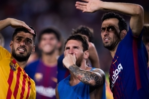 'Very difficult' to see Messi in the Premier League, says Busquets