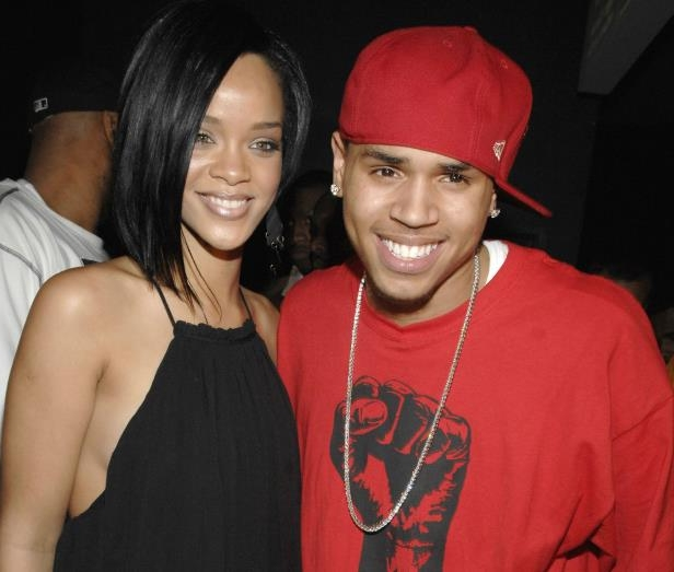 Chris Brown, RIHANNA are posing for a picture