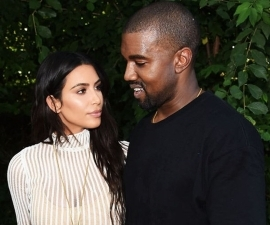 Kanye West Is Currently Not Living With Kim Kardashian, And Has Literally Fled To The Mountains. The 40-year-old rapper is currently writing new music in the mountains while Kim Kardashian shows off her skiing skills.