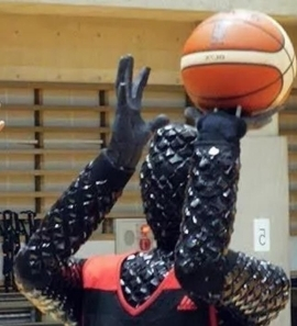 Meet the humanoid robot built by Toyota Japan that can shoot perfect better than most NBA basketball stars.