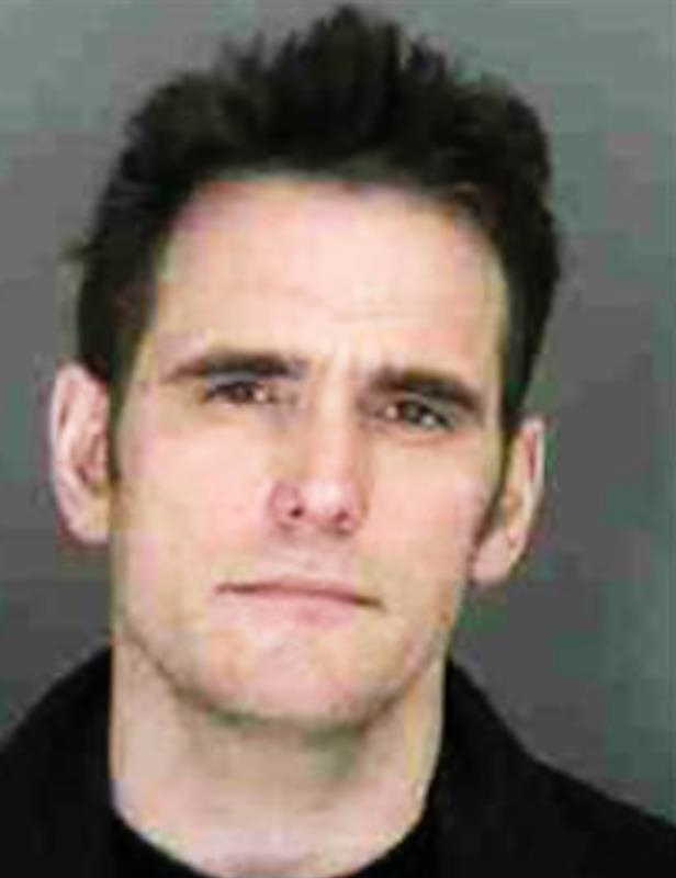 Slide 90 of 103: Police mugshots Matt Dillon