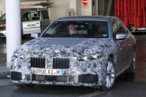 Spied! Refreshed BMW 7 Series Caught Partially Disguised