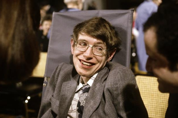 "Stephen Hawking wearing a suit and tie: Dr. Hawking in 1979. The only subject at University College, Oxford, that he found exciting was cosmology because it dealt with what he called ""the big question: Where did the universe come from?"""