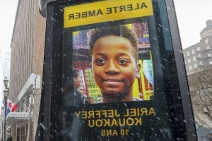 Ariel Jeffrey Kouakou: Heavy snow hampers search for missing 10-year-old