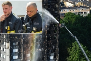 Grenfell firefighter's guilt over not being able to save more people