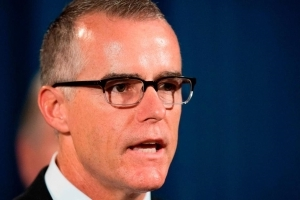 McCabe pleading case at Justice Department