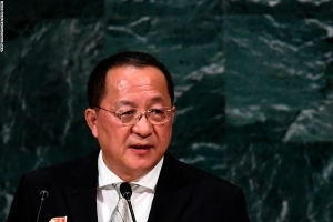 North Korean Foreign Minister headed to Sweden