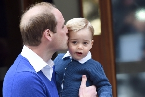 Prince William reveals Prince George's dream job!