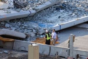 Survivor of FIU bridge collapse sues design-construction firms for reckless negligence