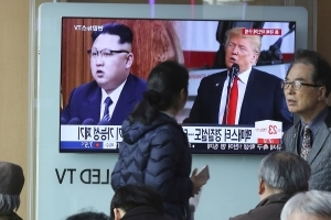 US, S Korea and Japan discuss denuclearization, summit talks