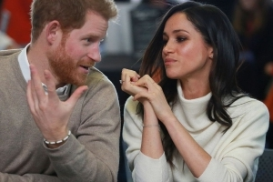 Prince Harry Knew He 'Had to Up His Game' When He First Saw Meghan Markle (Exclusive)