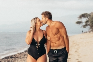 'Curvy' blogger reveals she was body-shamed for being married to 'Mr. 6-Pack'