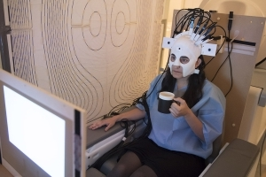 This funky helmet makes brain-scanning more comfortable