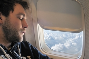 This Is Why You Should Never, Ever Sleep While a Plane Is Taking Off or Landing