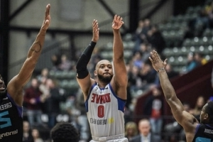 NBA G League's Zeke Upshaw collapses on court, reportedly was in cardiac arrest and rushed to hospital in critical condition