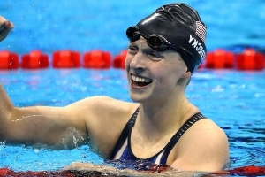 Five-Time Olympic Gold Medalist Katie Ledecky Turning Pro