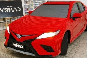 Toyota Built This Camry Out of Lego