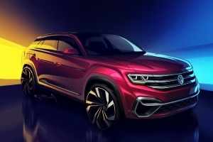 Volkswagen Atlas 5-passenger concept to be unveiled in New York
