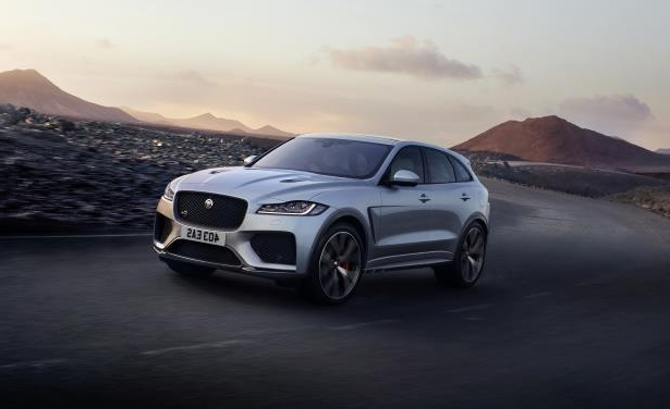 Slide 1 of 25: 2019 Jaguar F-Pace SVR