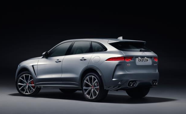 Slide 10 of 25: 2019 Jaguar F-Pace SVR