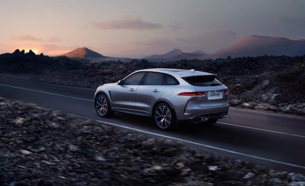 Slide 4 of 25: 2019 Jaguar F-Pace SVR