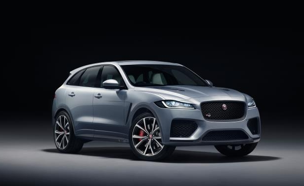 Slide 8 of 25: 2019 Jaguar F-Pace SVR
