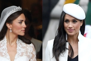 Meghan Markle Is Worried About Upstaging Kate Middleton With Her Wedding Dress Choice