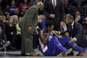Report: Sixers hope Joel Embiid will only miss one playoff game