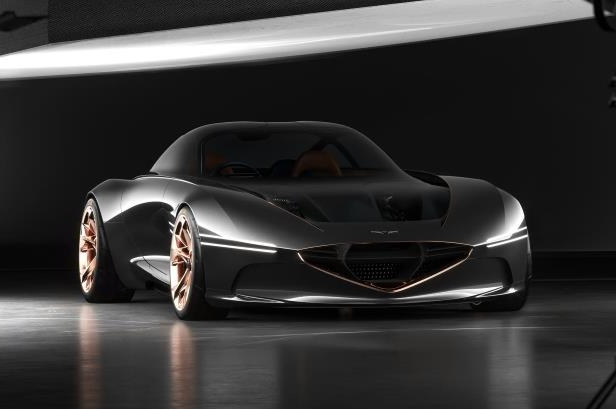 Slide 14 of 26: Genesis-Essentia-concept-front-three-quarter-01.jpg