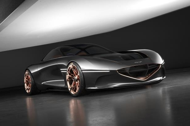Slide 15 of 26: Genesis-Essentia-concept-front-three-quarter-02.jpg
