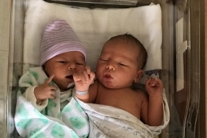 Twin brothers in Michigan welcome newborns on the same day: 'It was destined to be'