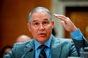 Trump offers support to embattled EPA head