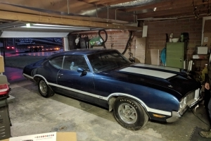 Rare Find: 1970 Oldsmobile Cutlass S W-31 Hides in Original Owner's Garage for 34 Years