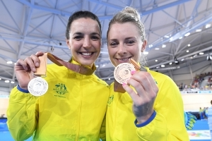 Canberra cyclist Rebecca Wiasak's Commonwealth Games silver heartbreak