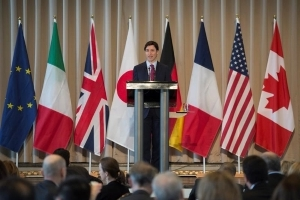 Trudeau defends usefulness of G7 summit