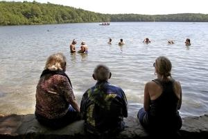 Walden Pond, which inspired Thoreau, is being killed by pee