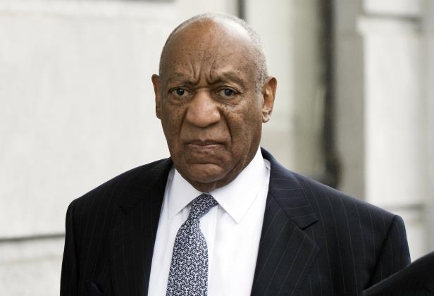 Bill Cosby arrives for his sexual assault case at the Montgomery County Courthouse, Wednesday, April 4, 2018, in Norristown. (AP Photo/Chris Szagola):