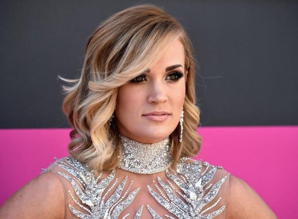 Carrie Underwood suffered the accident in November.