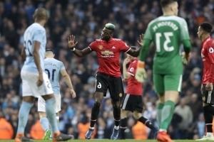 United puts City's title celebrations on hold with 3-2 win