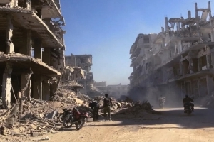 Syria attack: Activists says dozens killed by gas