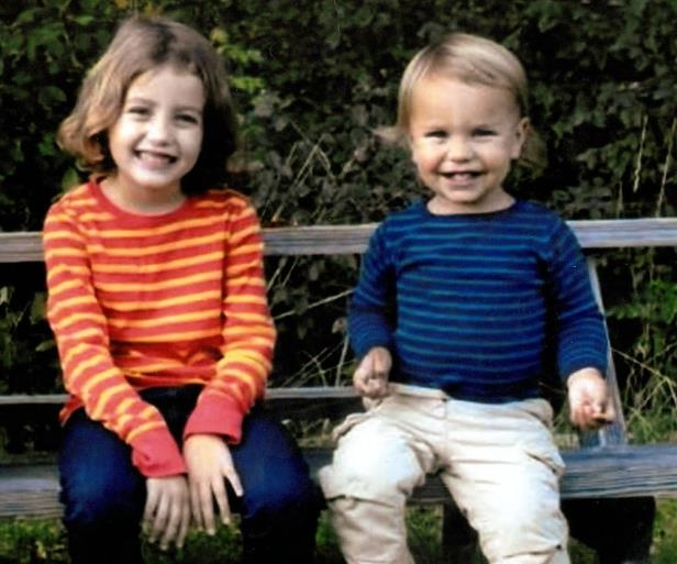 a little girl sitting on a bench: Lulu and Leo Kim, ages 6 and 2 years old were killed in side their Upper West Side home on Oct. 25, 2012.