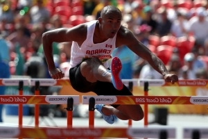 Canada's Damian Warner leads after 7 events of Commonwealth Games decathlon