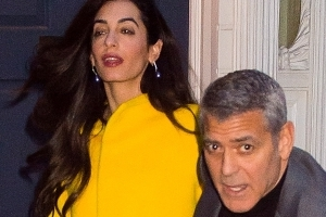 PICS: George and Amal Clooney step out for stylish date night in New York