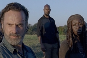 The Walking Dead (saison 8) : les premières images intenses de l'épisode final (VIDEO)