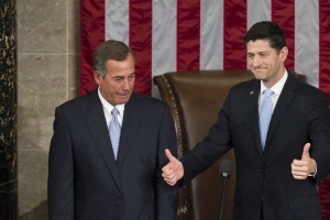 Boehner dismisses far-right replacement for Ryan: 'They know they can't win'