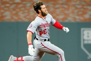Bryce Harper's secret to epic hair is two blow dryers