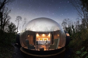 Fall Asleep Under Millions of Stars at This Bubble Hotel in Northern Ireland