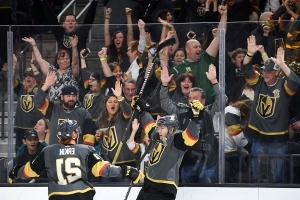 What will Vegas be like for Golden Knights' playoff encore after regular-season 'pool party'?