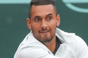 Kyrgios claps back at social media troll