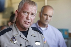 Sheriff linked to Sandy Hook conspiracy theory apologizes for leaked racy photo